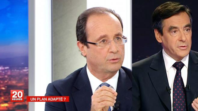 Capture d'écran TF1 et France 2.