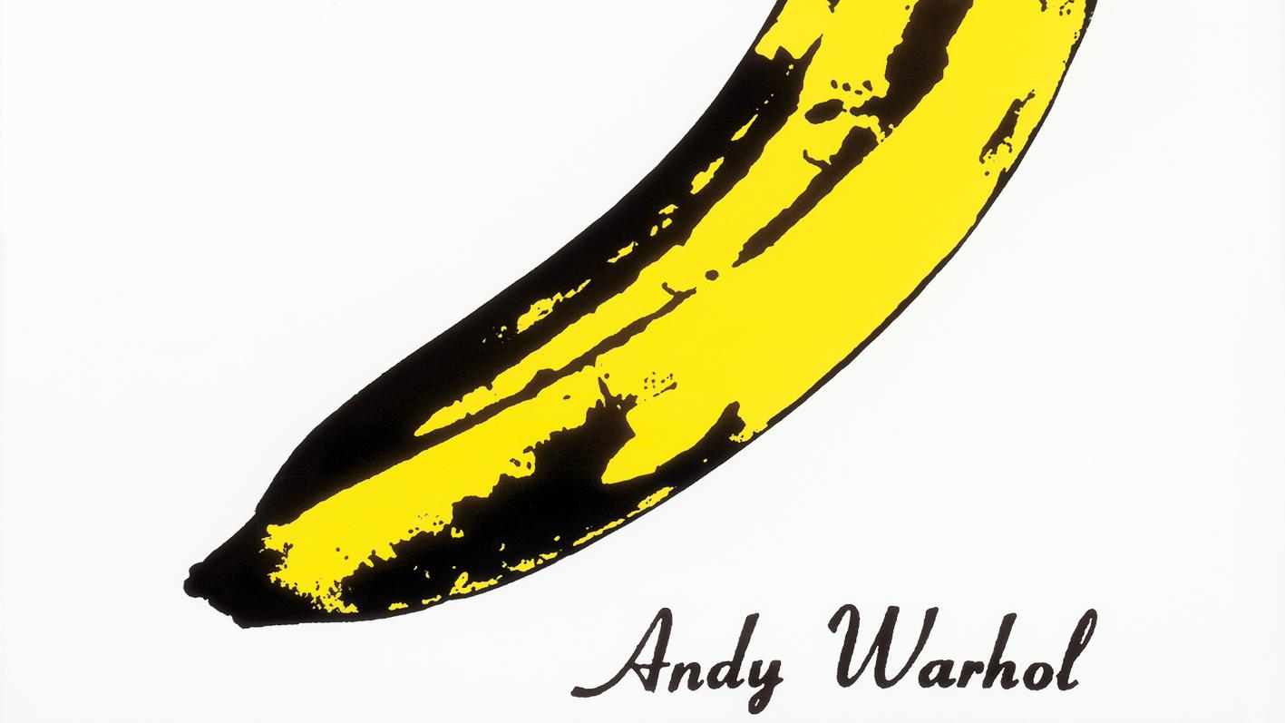 La Banane D Andy Warhol Fruit D 233 Fendu Par The Velvet
