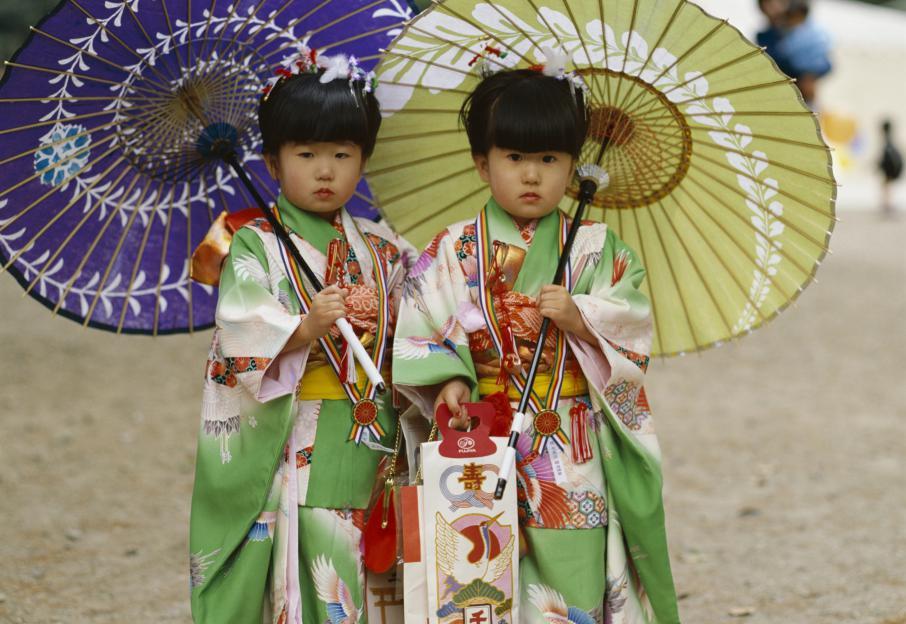 Costumes Japonais Traditionnels Des Costumes Traditionnels