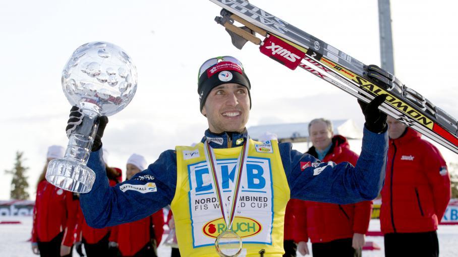 Lamy chappuis remporte sa troisi me coupe du monde de combin nordique - Coupe du monde combine nordique ...