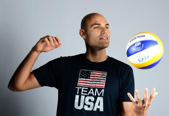 Phil Dalhausser, volleyeur.