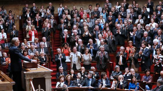 A l'Assemblée nationale, le 3 juillet 2012.