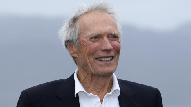 Clint Eastwood, le 12 février 2012 à Pebble Beach, en Californie.