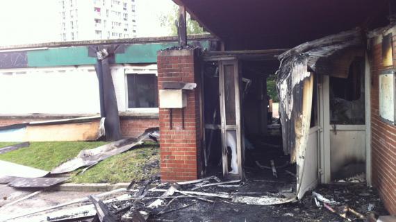 Un centre associatif d'Amiens-Nord a été brûlé dans la nuit de lundi à mardi 14 août.