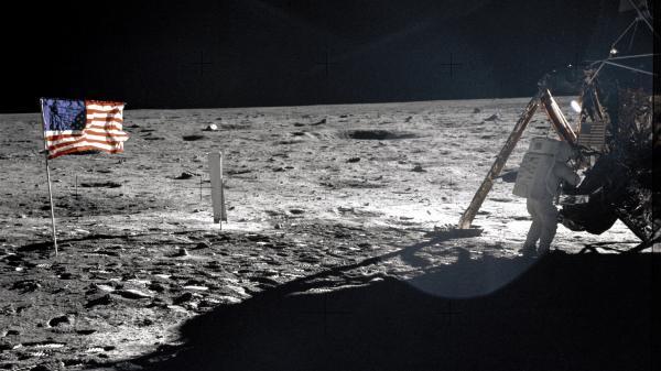 Espace : les premiers pas sur la Lune suivis en Mondovision