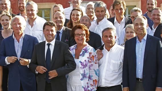 De nombreux responsables de l'UMP ont participé à la réunion des Amis de Nicolas Sarkozy, les 24 et 25 août à Nice.