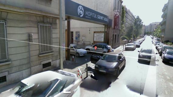 L'hôpital Saint-Joseph, à Marseille, où un nourrisson a été enlevé.
