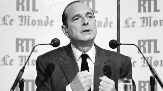 Le Premier ministre Jacques Chirac, le 14 septembre 1986, à Paris.