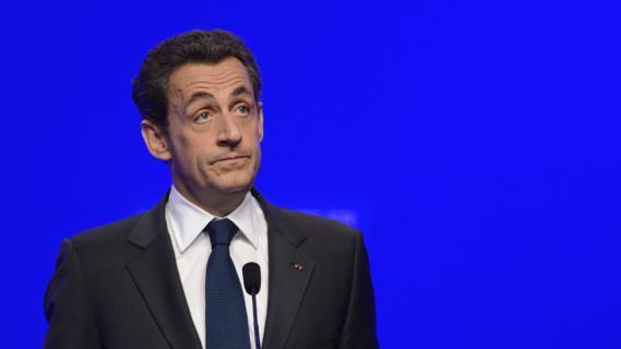 Nicolas Sarkozy, le 6 mai 2012, à Paris.