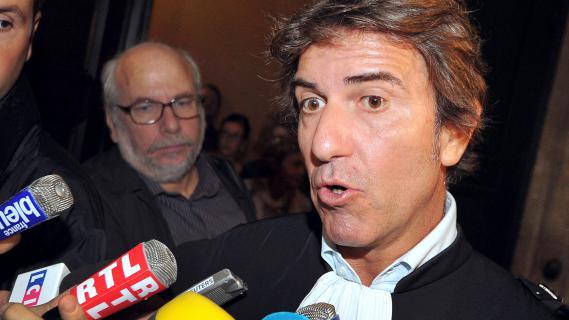 Alexandre Novion, avocat de Thierry Tilly, le 24 septembre 2012 au tribunal de Bordeaux.