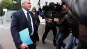 L'avocat Thierry Herzog arrive au pôle financier de Paris, le 2 octobre 2012.