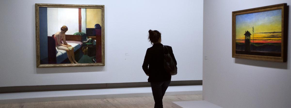 Video quatre toiles d 39 edward hopper expliqu es en deux - Les deux minutes du peuple le salon funeraire ...