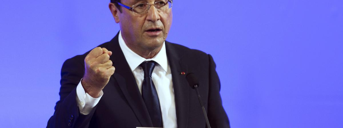 François Hollande, le 9 octobre 2012.