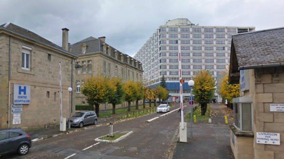 Capture d'écran de l'hôpital de Brive (Corrèze), où se rendait une femme contrainte d'accoucher sur l'autoroute, causant la mort du nourrisson, vendredi 19 octobre 2012.