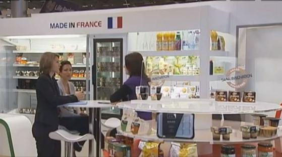 capture d'écran SIAL Parsi 2012 - Salon International de l'Alimentation, le SIAL Paris 2012, ouvert jusqu'au 25 octobre.