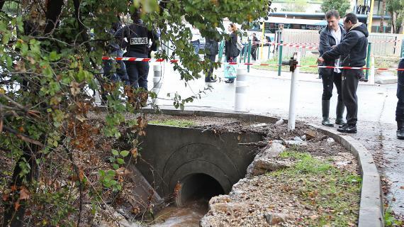 Deux étudiants ont été emportés dans ce conduit long de 800 mètres vendredi 26 octobre, à La Garde, dans le Var.