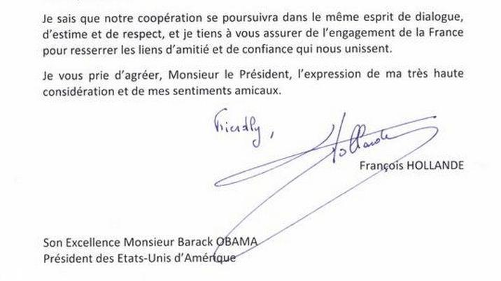 formule politesse fin de lettre anglais Lettre de Hollande à Obama : la faute d'anglais qui amuse les réseaux formule politesse fin de lettre anglais