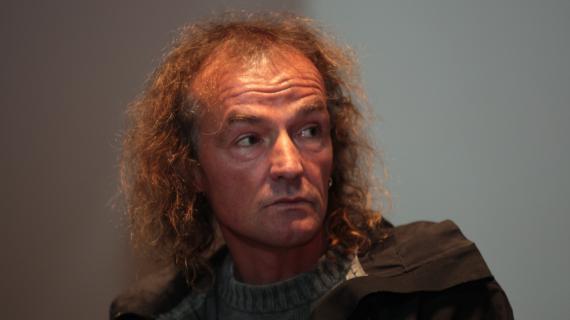 Patrick Edlinger  Trente, en Italie, le 29 avril 2009.