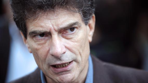 Pascal Durand, le secrétaire nationale du parti Europe Ecologie Les Verts, le 18 septembre 2012 à Nantes.