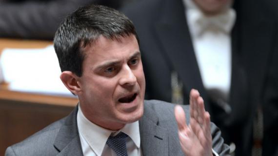 Manuel Valls, le 27 novembre 2012 à l'Assemblée nationale.