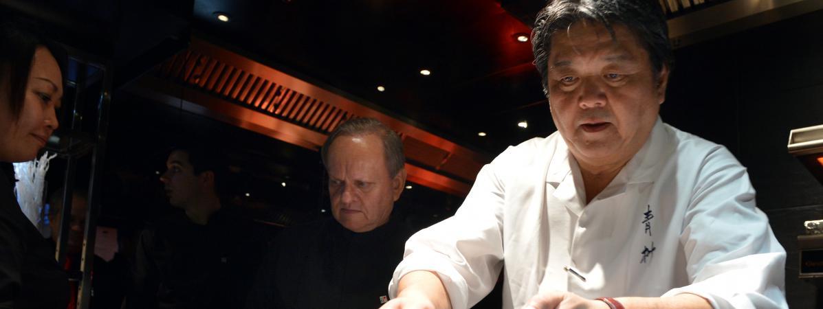 Gastronomie pourquoi tokyo est devant paris pour le for Restaurant japonais chef cuisine devant vous