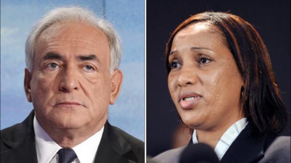 Dominique Strauss-Kahn (à gauche), et Nafissatou Diallo (à droite) ont rendez-vous le 10 décembre.
