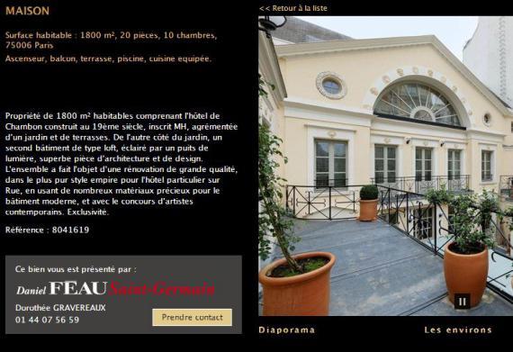 Vitrolles infos photos ce que poss de g rard depardieu paris - Propriete de prestige paris xi feau ...