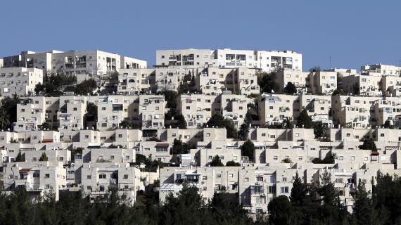 La colonie juive deRamat Shlomo à Jérusalem-Est, le 18 décembre 2012.