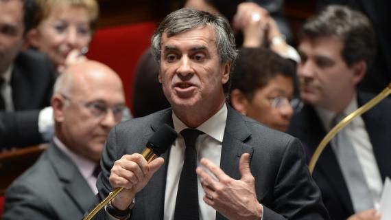 Le ministre du Budget, Jérôme Cahuzac, le 4 décembre 2012 à l'Assemblée nationale.