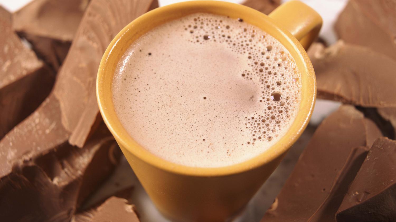 pour un meilleur chocolat chaud choisissez une tasse orange. Black Bedroom Furniture Sets. Home Design Ideas