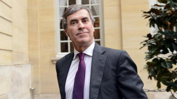 Le ministre délégué au Budget, Jérôme Cahuzac, à son arrivée à Matignon, le 4 janvier 2013.