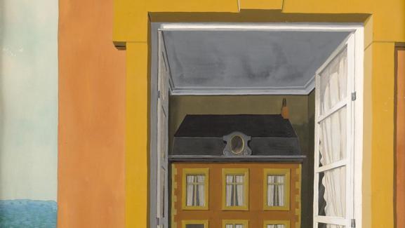 René Magritte, Eloge de la dialectique, 1936, Musée d\'Ixelles, Bruxelles, photo Mixed Media