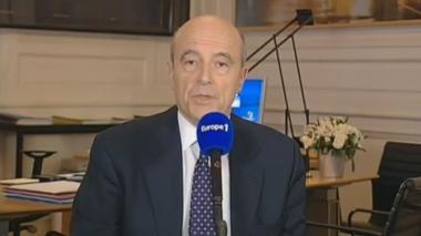 Alain Juppé, le 21 janvier 2013.