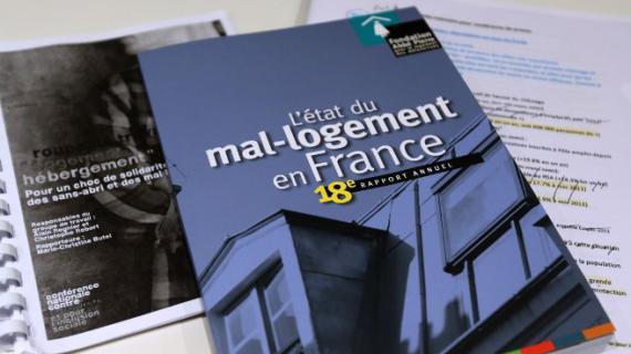Le 18e rapport annuel de la Fondation Abbé-Pierre sur le mal-logement en France a été publié vendredi 1er février 2013.