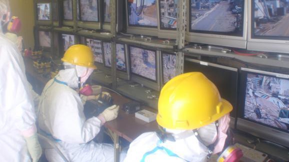 Des photos in dites de la centrale de fukushima juste for Interieur unite centrale