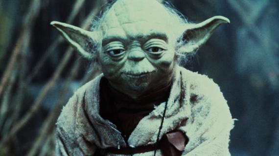 """Maître Yoda, dans """"L'Empire contre-attaque"""", sorti en 1980."""