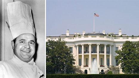 ren verdon chef cuisinier de la maison blanche sous l 39 re kennedy est mort 86 ans chez lui. Black Bedroom Furniture Sets. Home Design Ideas