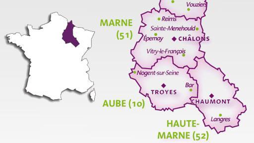 region champagne ardenne