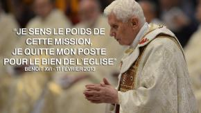 Le départ de Benoît XVI, une décision rarissime