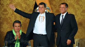 Correa célèbre son nouveau plébiscite à la tête de l'Equateur