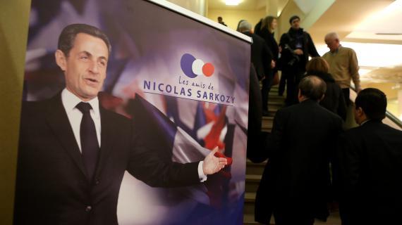 Selon les organisateurs, plus de mille personnes ont participé au colloque des Amis de Nicolas Sarkozy, organisé à la Maison de la Chimie, le 20 février 2013, à Paris.