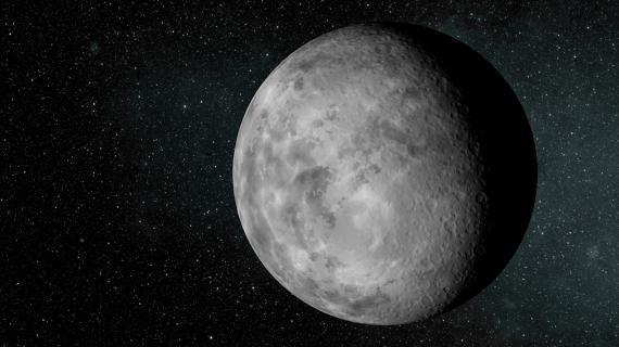 Modélisation de ce à quoi pourrait ressemblerKepler 37b, exoplanète dont la découverte a été annoncée le 20 février 2013.