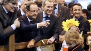 "VIDEO. Hollande à un enfant : ""Sarkozy ? Tu ne le verras plus"""