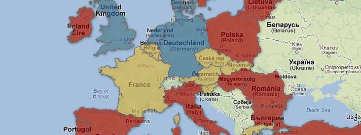 Carte Europe Vacances.Carte Le Tour D Europe Des Vacances Scolaires D Ete