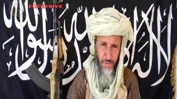 Capture d'écran d'une vidéopubliée le 25 décembre 2012, dans laquelle apparaît Abdel Hamid Abou Zeid, un des chefs d'Al-Qaïda au Maghreb islamique.