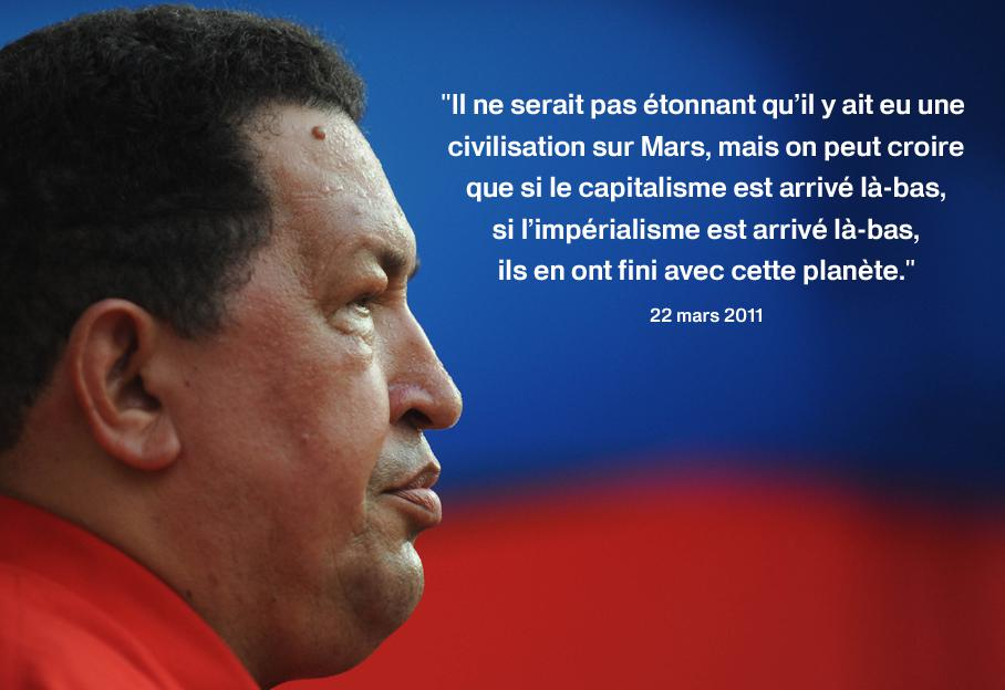 Hugo Chavez En Dix Citations