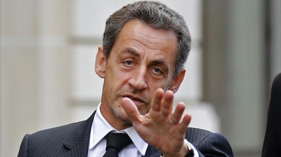 L'ancien président français Nicolas Sarkozy,à Paris, le 26 novembre 2012.