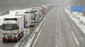 Le nord-ouest de la France de nouveau sous la neige