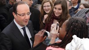 Hollande chahuté lors de sa visite dans Dijon