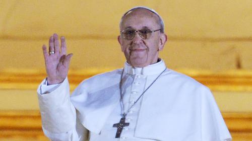 VIDEO,nouveau,pape,François,s'adresse,fidèles,Vatican,